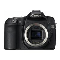 Canon EOS 50D Black SLR Digital Camera Body Only
