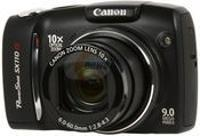 Canon PowerShot SX110 IS Black Digital Camera