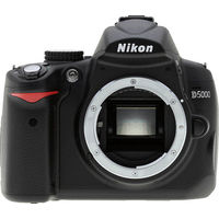 Nikon D5000 Black SLR Digital Camera Body Only