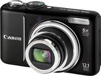 Canon PowerShot A2100 IS Black Digital Camera
