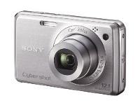 Sony Cyber-Shot DSC-W220 Silver Digital Camera