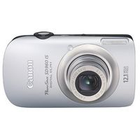 Canon PowerShot SD960 IS Silver Digital Camera