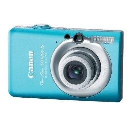 Canon PowerShot SD1200 IS Blue Digital Camera