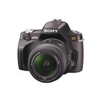 Sony Alpha A230 Black SLR Digital Camera Kit