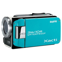 Sanyo VPC-WH1 HD Waterproof Flash Memory Camcorder