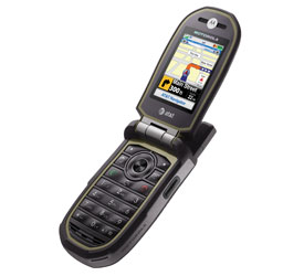Motorola Tundra VA76r Black Cell Phone