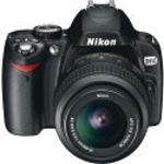 Nikon D60 Black SLR Digital Camera Kit