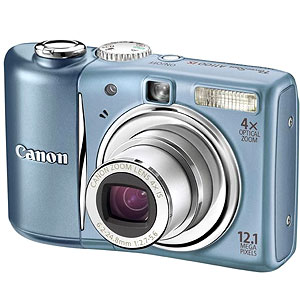 Canon PowerShot A1100 IS Blue Digital Camera