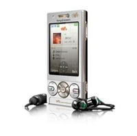 Sony Ericsson Walkman W705a Silver Cell Phone