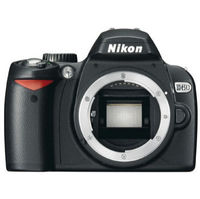 Nikon D60 SLR Digital Camera Body Only  10 2MP  SD SDHC Card Slot