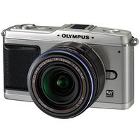 Olympus E-P1 Interchangeable Lens Type Live View Digital Camera  with Black 14-24mm Lens