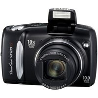 Canon PowerShot SX120IS Black Digital Camera