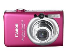 Canon PowerShot SD1200 IS Pink Digital Camera