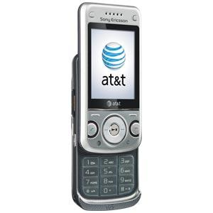 Sony Ericsson W760a Silver Cell Phone