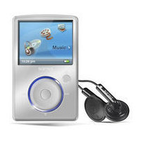 SanDisk Sansa Fuze 8GB MP3 Player -  Silver