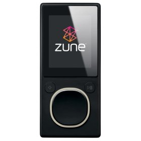 Microsoft Zune 2nd Generation 80GB Media Player - Black
