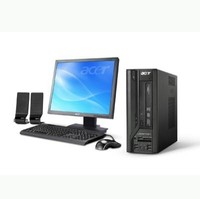 Acer Veriton X270-BE5200C Desktop  2 5GHz Intel Pentium Dual-Core E5200  2GB DDR2  160GB HDD  DVD  RW  Windows Vista Business  22  LCD