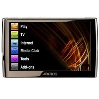 Archos 5 60GB Portable Black MP3 Player