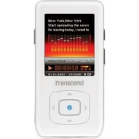 Transcend Transcend  T sonic 850 1 8  White  4GB  MP3 Player