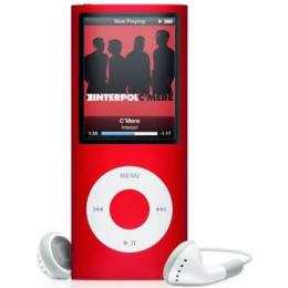 Apple iPod nano 4th Generation 8GB MP3 Player - Red