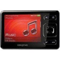 Creative Labs Zen MX MP3 Player  8GB  Black