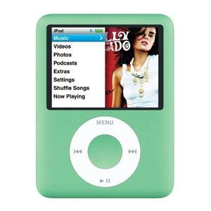 Apple iPod nano 3rd Generation 8GB MP3 Player - Green