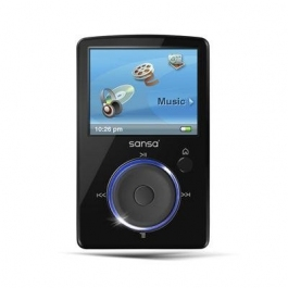 SanDisk Sansa Fuze 8 GB MP3 Player  Black