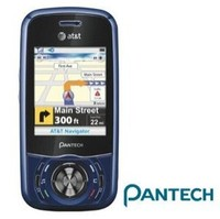 Pantech C740 Matrix Navy Blue Cell Phone