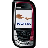 Nokia 7610 Supernova Cell Phone - White