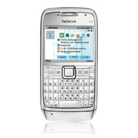 Nokia E71 Silver Cell Phone