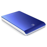 Seagate Freeagent Go Portable 320GB Blue Hard Drive