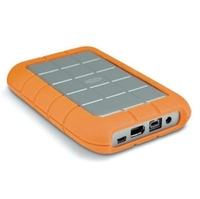 LaCie Rugged Portable 500GB Hard Drive