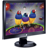 ViewSonic VX2433wm Black 24  Widescreen LCD Monitor