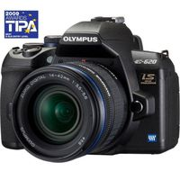 Olympus E-620 Black SLR Digital Camera Kit w 14-42mm Lens