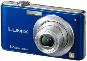 Panasonic Lumix DMC-FS15A Blue Digital Camera
