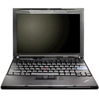 Lenovo ThinkPad X200 Notebook  2 4GHz Intel Core 2 Duo Mobile P8600  2GB DDR2  160GB  Windows XP Pro  12 1  LCD