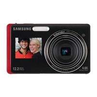 Samsung DualView TL220 Red Digital Camera