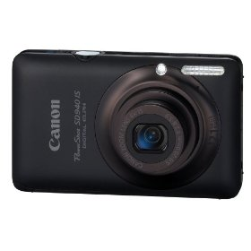 Canon PowerShot SD940 IS Black Digital Camera