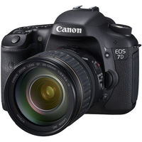 Canon EOS 7D Black SLR Digital Camera Kit w  28-135mm Lens