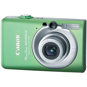 Canon PowerShot SD1200 IS Green Digital Camera