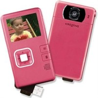 Creative Vado Pocket Video Cam Pink Camcorder