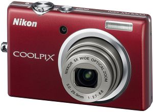 Nikon CoolPix S570 Red Digital Camera