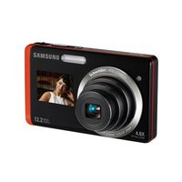 Samsung DualView TL225 Orange Digital Camera