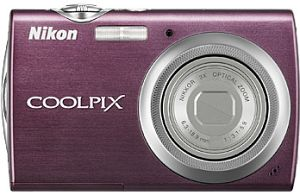 Nikon Coolpix S220 Purple Digital Camera