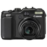 Canon PowerShot G11 Black Digital Camera