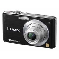 Panasonic Lumix DMC-FS15K Black Digital Camera