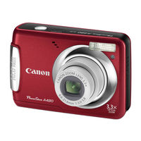 Canon PowerShot A480 Red Digital Camera