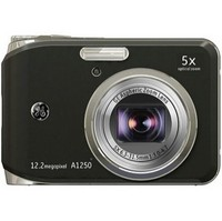General Electric A1250 Black Digital Camera