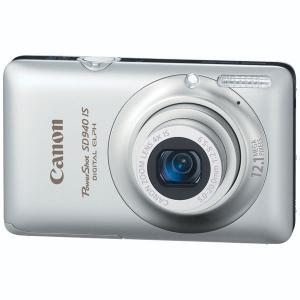 Canon PowerShot SD940 IS Silver Digital Camera