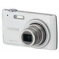 Pentax Optio P70 White Digital Camera  12MP  4x Opt  SDHC Card Slot